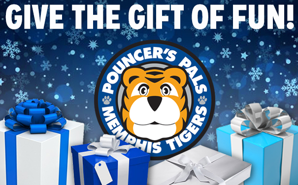 Give your little Tiger Fan the gift of a Pouncer's Pal Membership!