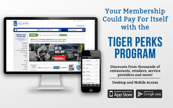 Take advantage of your membership benefits