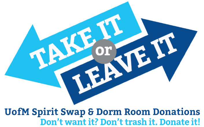 UofM Spirit Swap: Saturday, June 3